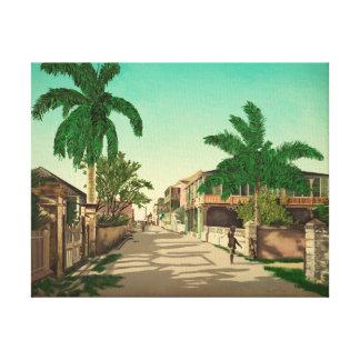 Nassau, Bahamas Fine Art Canvas Print
