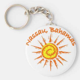 Nassau, Bahamas Keychain