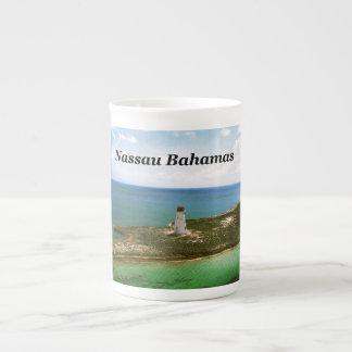 Nassau Bahamas, lighthouse  in harbor Tea Cup
