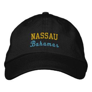 Nassau, Bahamas Personalized Adjustable Hat