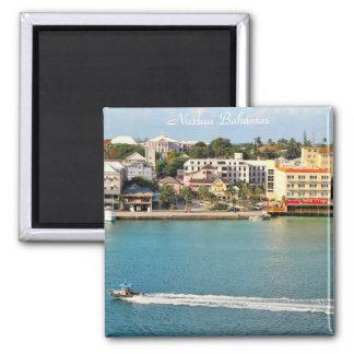 Nassau Bahamas, Photography of city, Senor Frogs Square Magnet