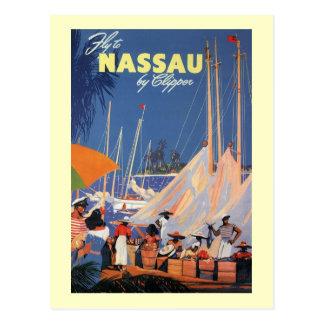 Nassau Bahamas Postcard