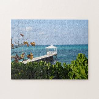 Nassau Bahamas Sand Port. Jigsaw Puzzle