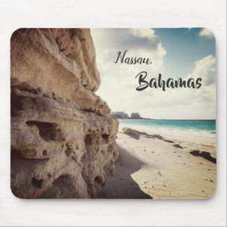 Nassau, Bahamas | Tropical Beach Mouse Pad