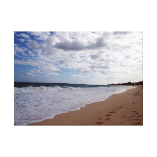 Nassau Beach Canvas Print