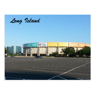 Nassau Coliseum Postcard