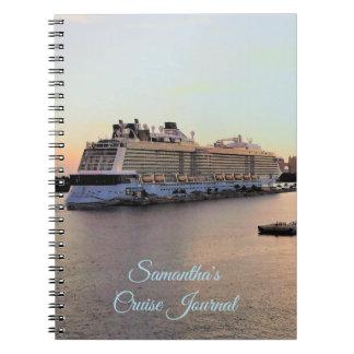Nassau Harbor Daybreak Custom Cruise Journal