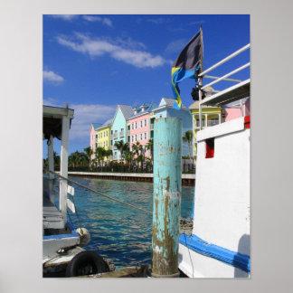 Nassau Harbor Poster