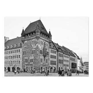 Nassau House in Nuremberg Photo Print