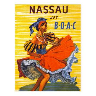 Nassau Jet Postcard