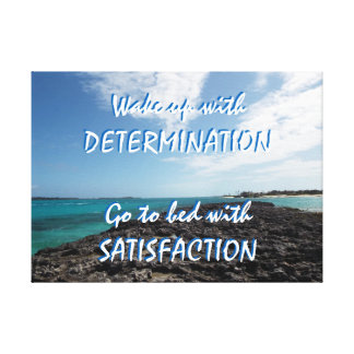 Nassau Motivation Canvas Print