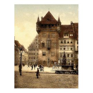 Nassauerhaus, Nuremberg, Bavaria, Germany magnific Postcard