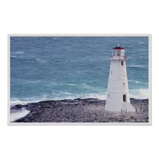 Nassau's Lighthouse Poster