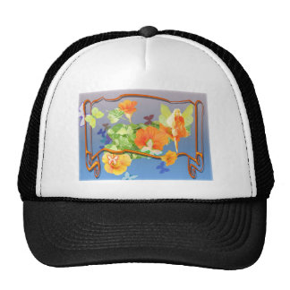 nasturtium-faery trucker hat