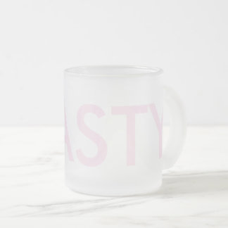 NASTY Frost Frosted Glass Coffee Mug