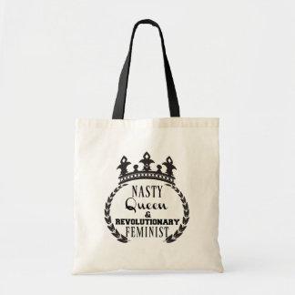 Nasty Queen Feminist Tote Bag