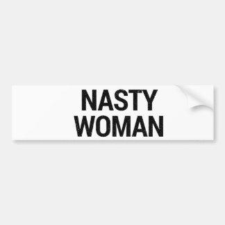Nasty Woman Bumper Sticker