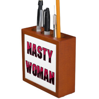 Nasty Woman Desk Organizer