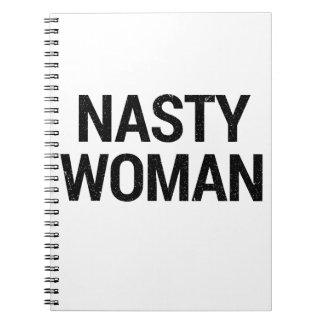 Nasty Woman Notebook