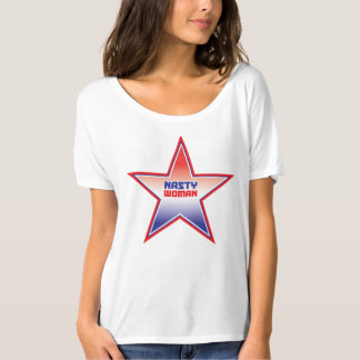 Nasty Woman Ombre Star Shirt