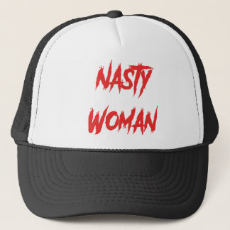 Nasty Woman Red Trucker Hat