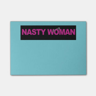 Nasty Woman Safety Pin Post-It's Post-it Notes