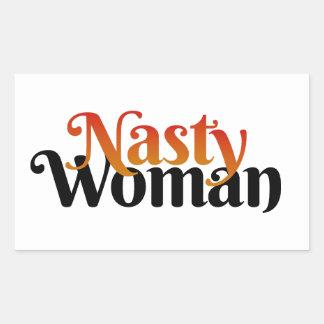 Nasty Woman Sticker (Fire)