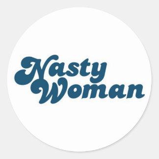 NASTY WOMAN stickers
