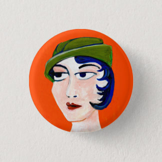 nasty woman -ziva 1 inch round button