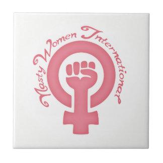 Nasty Women International Tile