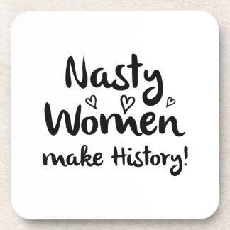 Nasty Women Make History Coaster