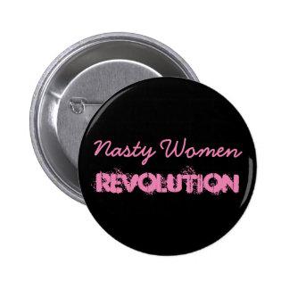 Nasty Women Revolution 2 Inch Round Button