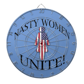 Nasty Women Unite Dartboard