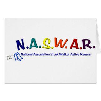 NASWAR - Senior Walker Racing Card
