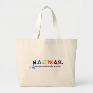 NASWAR - Senior Walker Racing Large Tote Bag