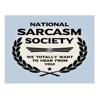 Nat' Sarc' Soc' -Hear Postcard