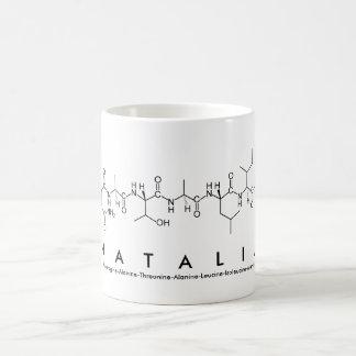 Natalia peptide name mug