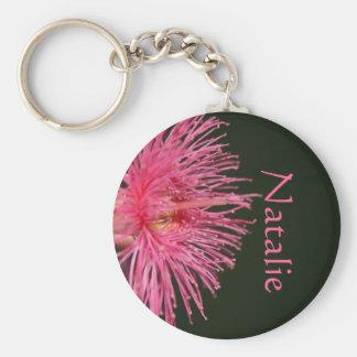 Natalie Australian Gum Nut Flower Name Gift Keychain