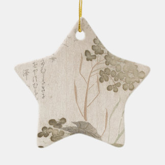 Natane Flower - Japanese Origin - Edo Period Ceramic Ornament