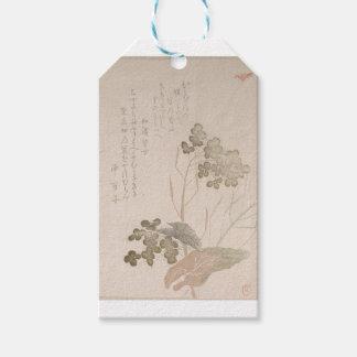 Natane Flower - Japanese Origin - Edo Period Pack Of Gift Tags