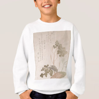 Natane Flower - Japanese Origin - Edo Period Sweatshirt