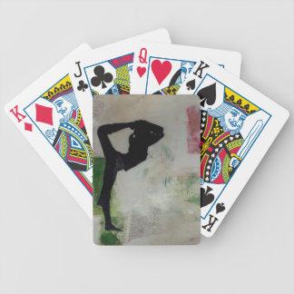 Natarajasana Yoga Girl - Poker Playing Cards