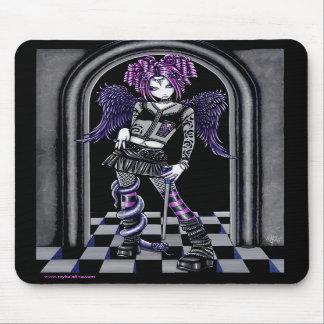 Natasha Gothic Pink Tattoo Angel Mousepad
