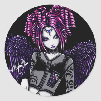 Natasha Pink Guardian Angel Stickers
