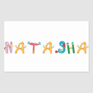 Natasha Sticker