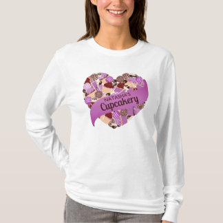 Natasha's Cupcakery Purple T-Shirt