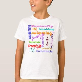 Natation partout t-shirt