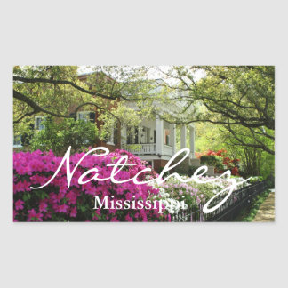 Natchez Mississippi Spring Sticker