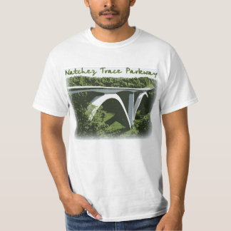 Natchez Trace Parkway Arch Bridge T-Shirt
