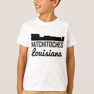 Natchitoches Louisiana Skyline T-Shirt